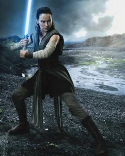 Imagen promocional de Rey en Star Wars: Los últimos Jedi (2017)