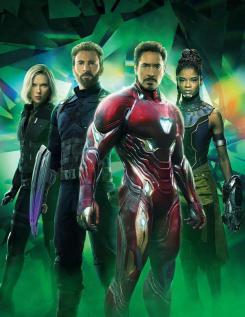 Portada sin texto de Vengadores: Infinity War (2018)
