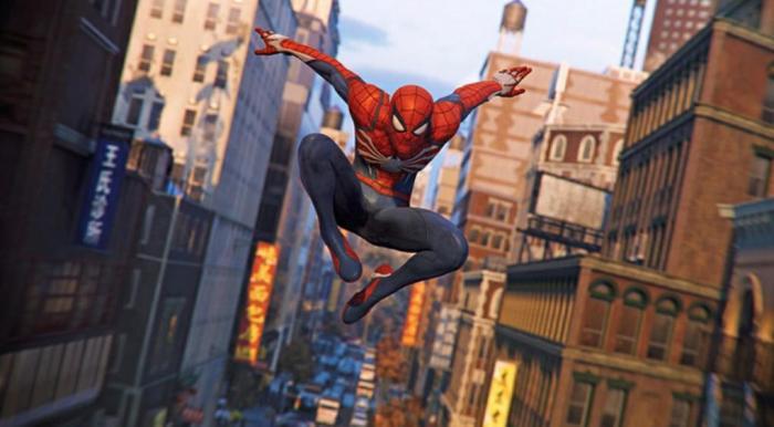 Imagen del videojuego Spider-Man PS4 (2018)
