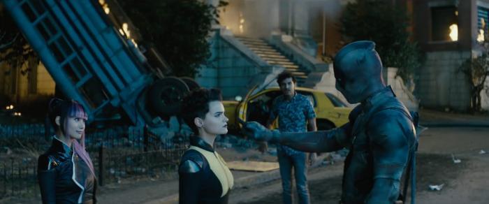 Captura del trailer de Deadpool 2 (2018)