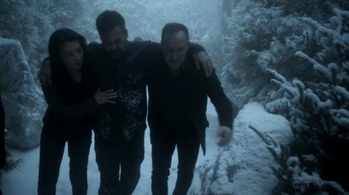 Rescatando a Coulson y a Talbot (capítulo 17)