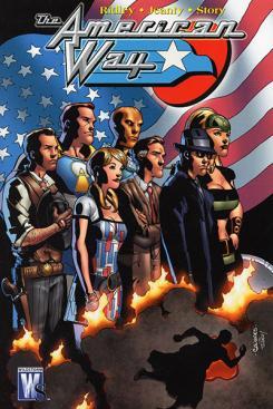 Imagen del cómic The American Way