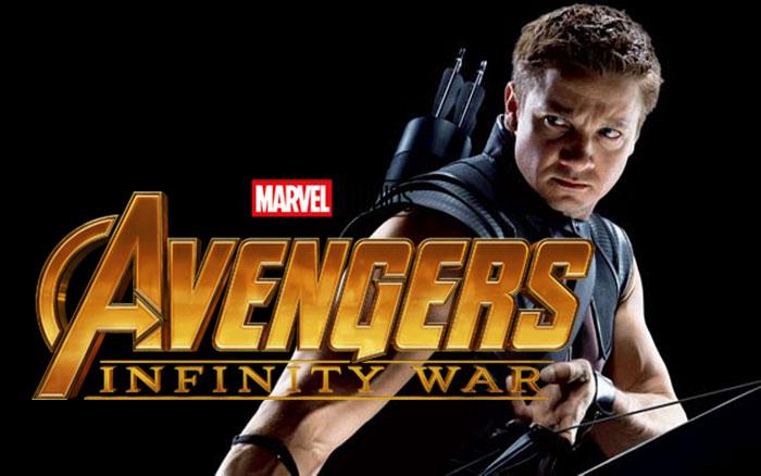 Ojo de Halcón... ¿Matando a Thanos en Vengadores: Infinity War?