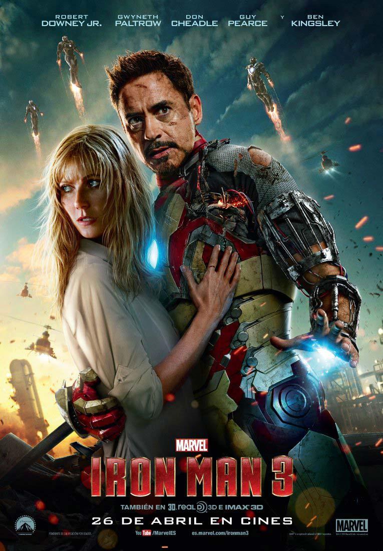EL CAMINO HACIA VENGADORES: INFINITY WAR: Iron Man 3 (2013)