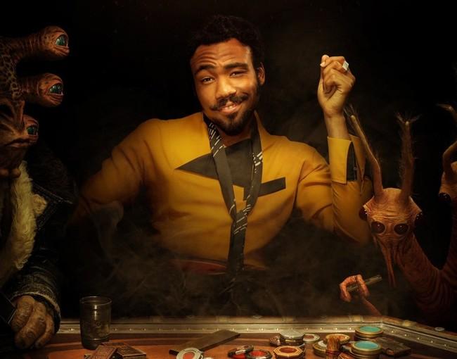 Donald Glover como Lando