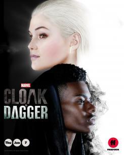 Póster de la primera temporada de Cloak & Dagger