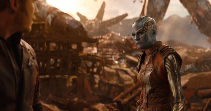 Imagen de Vengadores: Infinity War (2018), Nebula