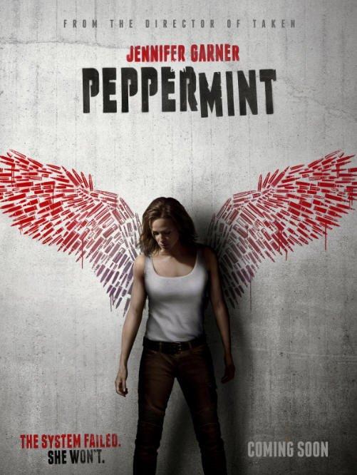 póster de Peppermint