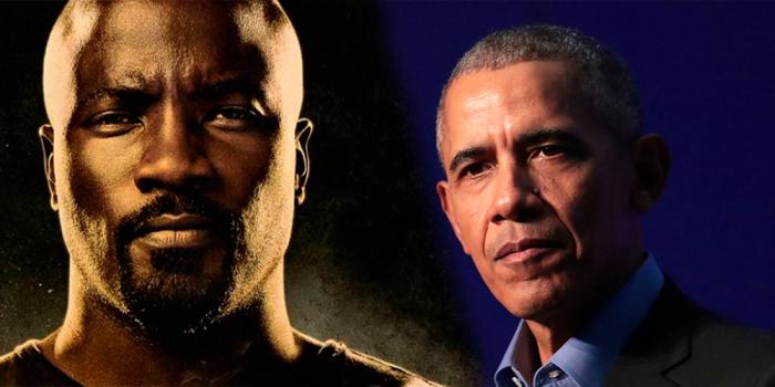 Luke Cage y Obama