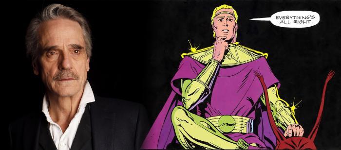 Jeremy Irons podría ser Ozymandias en la serie de Watchmen