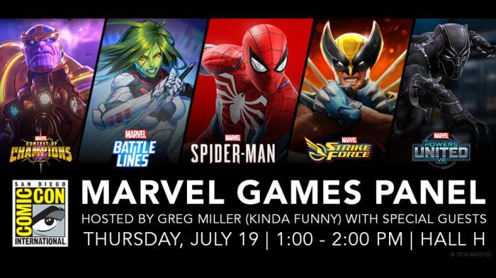 Marvel anuncia su panel en la Comic Con para el jueves 19 de julio
