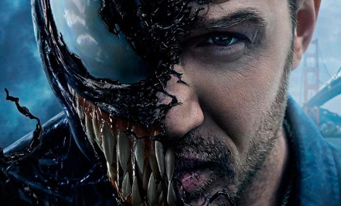 Recorte de póster de Venom (2018)