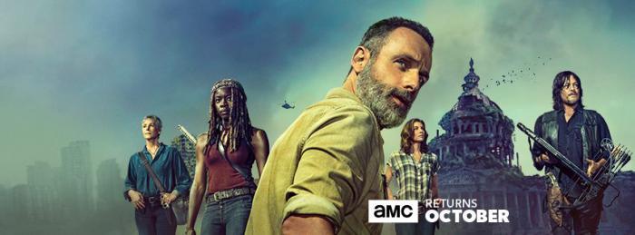 Imagen promocional de la novena temporada de The Walking Dead