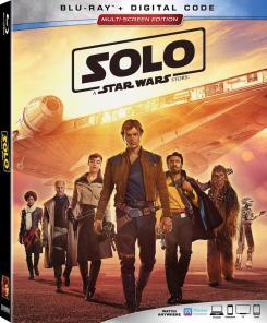 Portada del Blu-Ray de Han Solo: Una historia de Star Wars (2018)