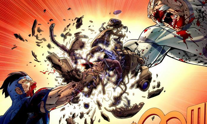 Imagen del cómic Invincible/Invencible