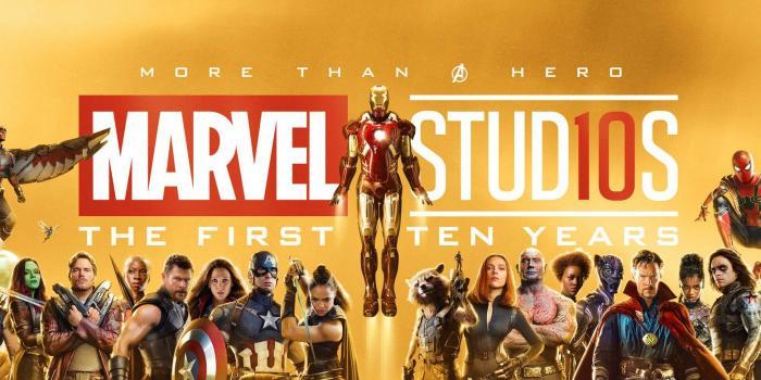 Póster Internacional por los 10 años de Marvel Studios
