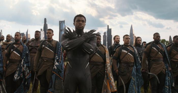 Imagen de Vengadores: Infinity War (2018), T'Challa