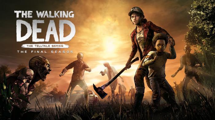Imagen promocional de la cuarta temporada de The Walking Dead: The Telltale Series