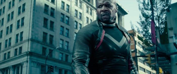 Captura del trailer de Deadpool 2 (2018), Bedlam