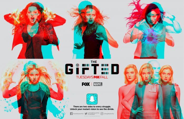 Banner de la segunda temporada de The Gifted (2018)