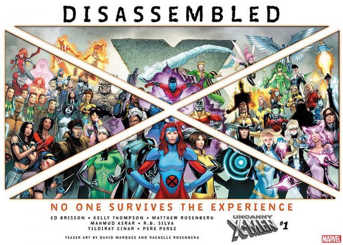 Marvel anuncia que están desmontando a los X-Men
