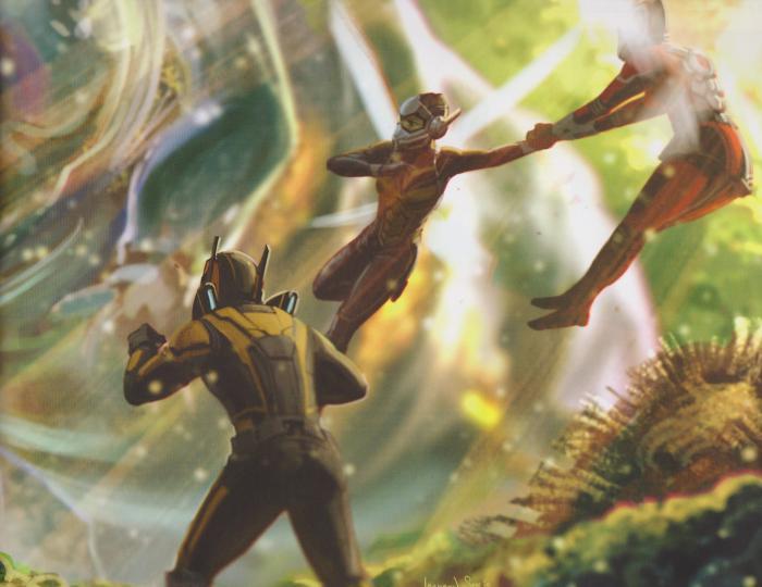 Concept art de Ant-Man y la Avispa (2018)
