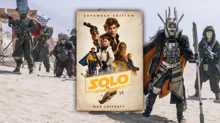 Imagen de la portada de la novela Solo: A Star Wars Story Expanded Edition