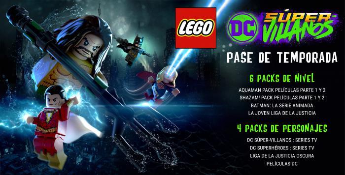 Imagen del pase de temporada de LEGO DC Súper-Villanos (2018)