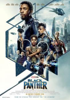 Póster para cines de Black Panther (2018)