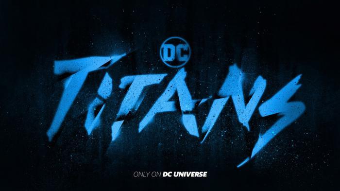 Logo de la serie Titans