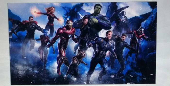 Posible arte promocional filtrado de Avengers 4 (2019)