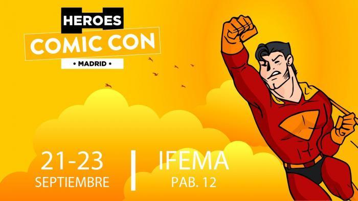 Imagen promocional de la Heroes Comic Con Madrid 2018