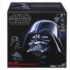 Imagen del casco de Darth Vader de Star Wars