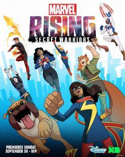 Póster de Marvel Rising: Secret Warriors (2018)