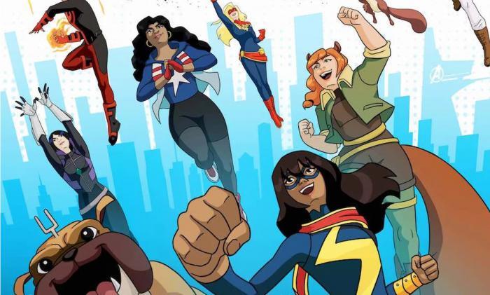 Recorte del póster de Marvel Rising: Secret Warriors (2018)