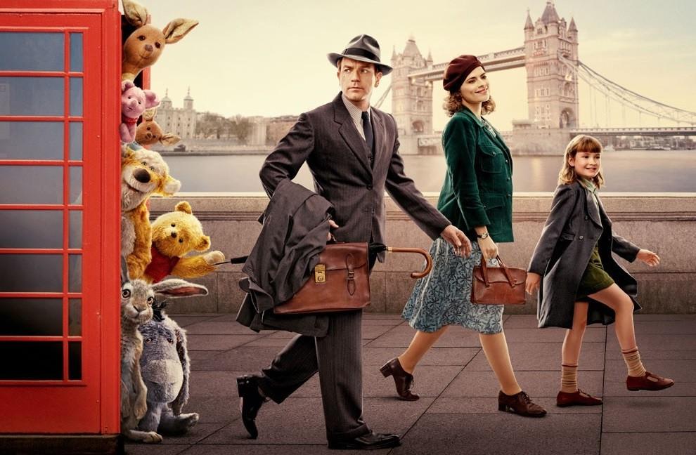 'Christopher Robin' va a lo fácil: un producto familiar de Disney tan efectivo como olvidable