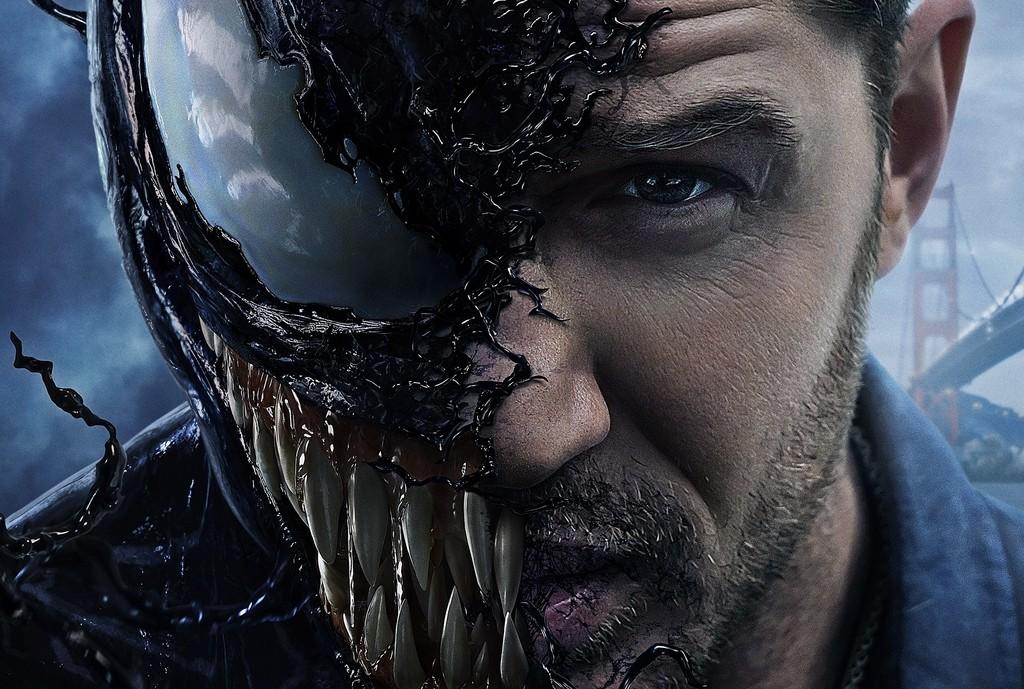 'Venom': un ruinoso blockbuster del que sólo se salva Tom Hardy