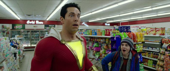 Captura del primer trailer de Shazam! (2019)