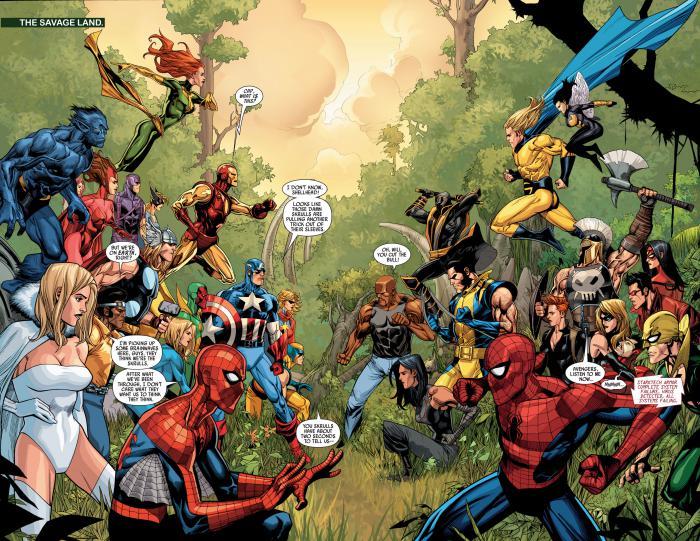 Imagen de Secret Invasion de los cómics Marvel