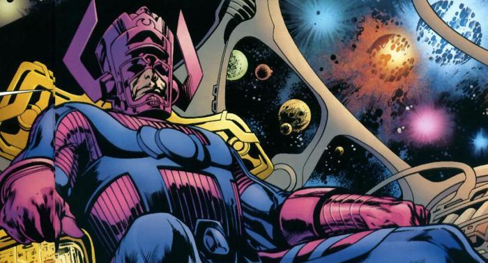 Imagen de Galactus en los cómics