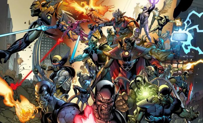 Imagen de los Skrulls en el evento Invasión Secreta
