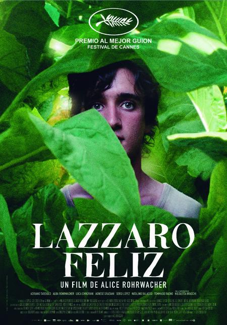 Cartel español de Lazzaro feliz