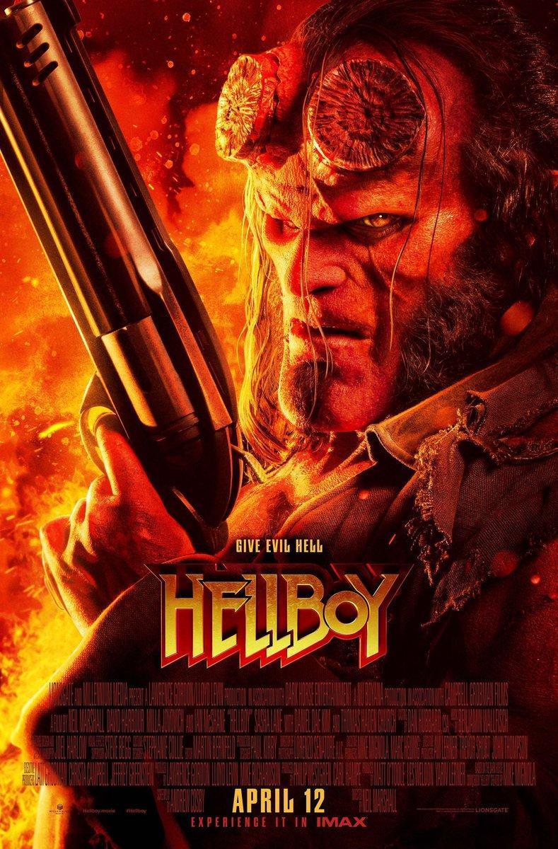 Red band trailer de Hellboy