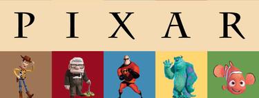 Todas las películas de Pixar ordenadas de peor a mejor