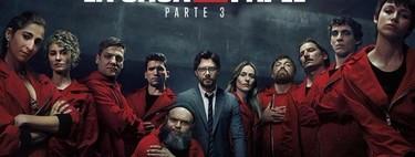 'La casa de papel' es la serie de habla no inglesa más vista: Netflix afirma que 44 millones abonados se engancharon a la temporada 3