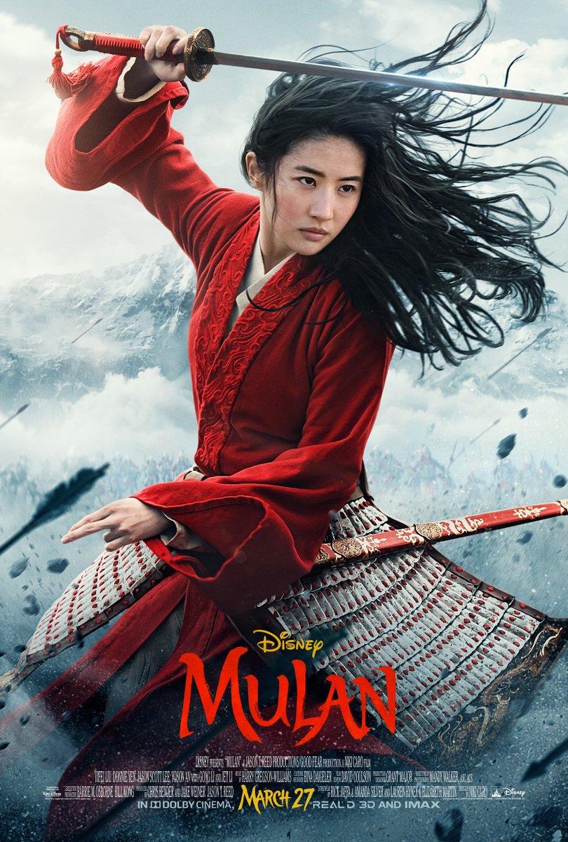 póster de Mulan