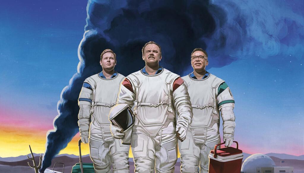 'Moonbase 8': Movistar+ estrena una estupenda comedia