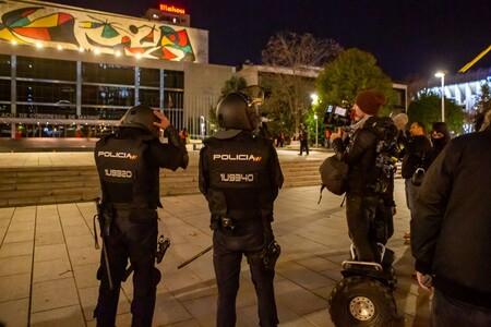 Antidisturbios Bernabeu