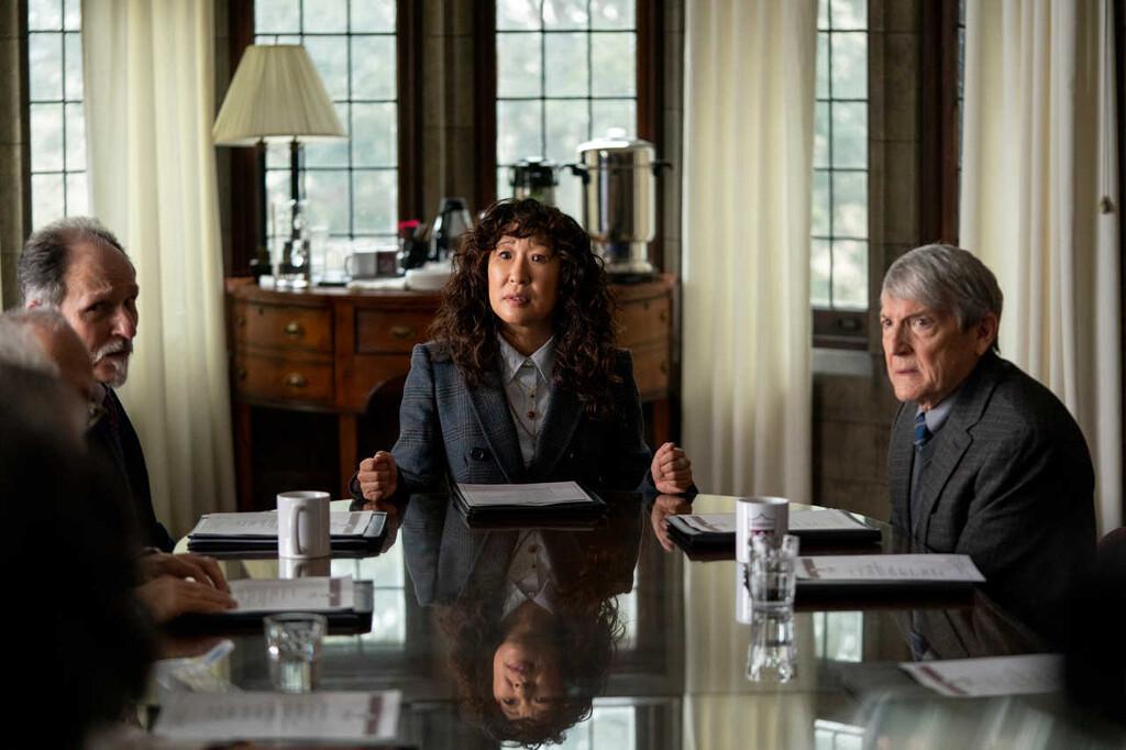 'La directora': Netflix desvela el nuevo tráiler de la serie protagonizada por Sandra Oh y Jay Duplass